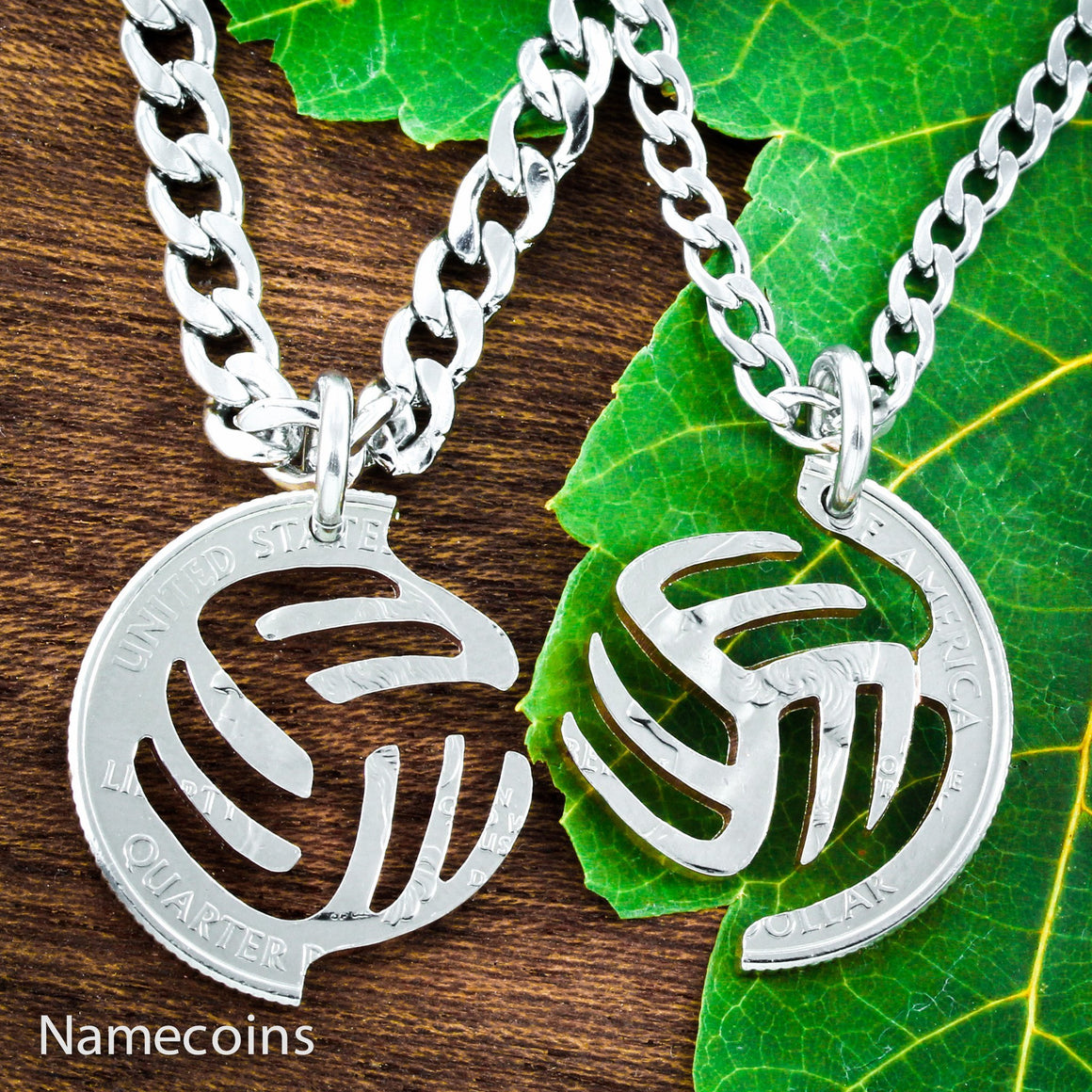 Volleyball Necklace Gifts For Best Friends