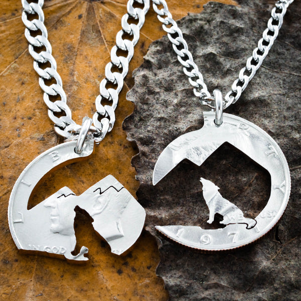 Howling Wolf Mountain necklace