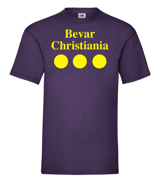 Christiania T Shirt Purple - SmokeBuddy Headshop