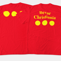 Christiania T Shirt Red - SmokeBuddy Headshop