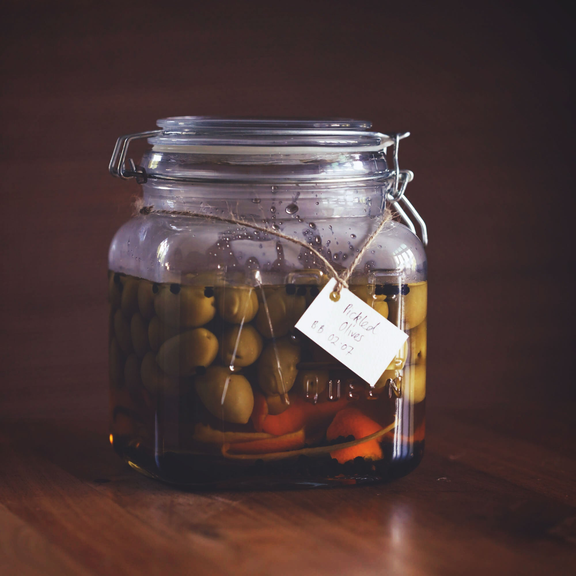 East Imperial Pickled Olives Recipe