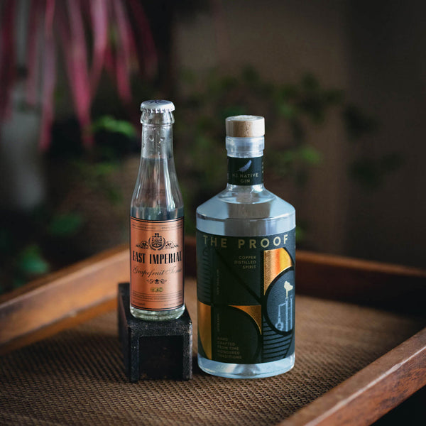 NZ Native The Proof Gin & Grapefruit Tonic