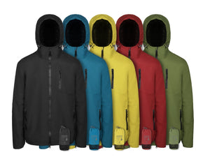 RainForce jacket, regenjack van Scippis in rood