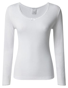 THERMAL LONG SLEEVE TOP dames