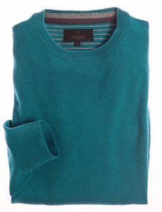 VEDONEIRE trui lamswool crew neck in green