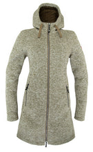 Afbeelding in Gallery-weergave laden, Nordberg Dames Fleece Britt in Beige Melange