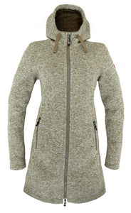 Nordberg Dames Fleece Britt in Beige Melange