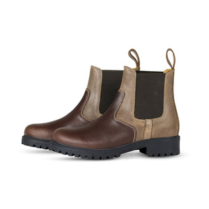 MOLAN COUNTRY BOOTS IN BROWN