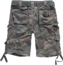 Afbeelding in Gallery-weergave laden, BRANDIT SAVAGE vintage shorts in camo