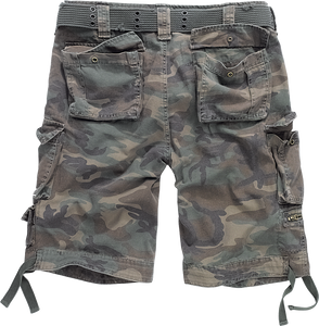 BRANDIT SAVAGE vintage shorts in camo