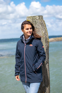 Nordberg Softshell Jassen Irene dames in navy