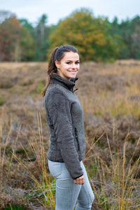 Nordberg Dames Fleece EVY in army