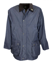 Afbeelding in Gallery-weergave laden, COUNTRYMAN wax jacket Oxford Blue