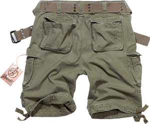 BRANDIT SAVAGE vintage shorts in army