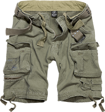 Afbeelding in Gallery-weergave laden, BRANDIT SAVAGE vintage shorts in army