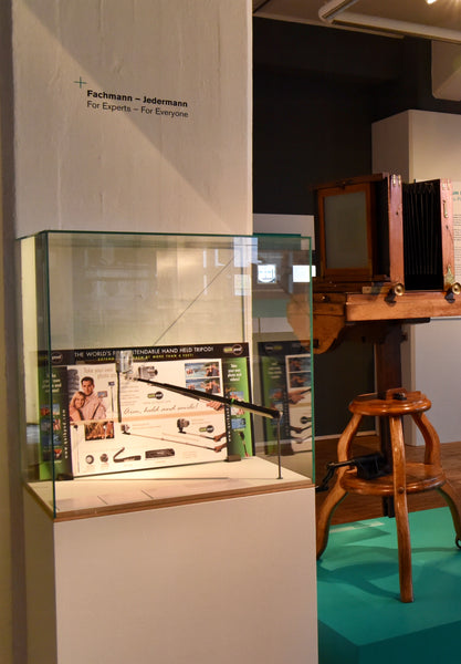 Quik Pod is featured in Europe at a Science Museum display on Photography!