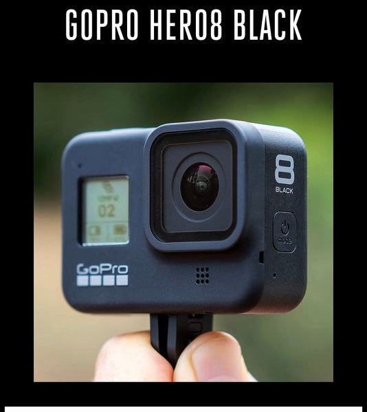 GoPro Hero 8 Black works with all Quik Pod's