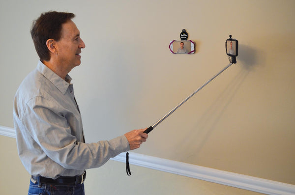Time Mag: The creator of the selfie stick brings us his newest Gadget!