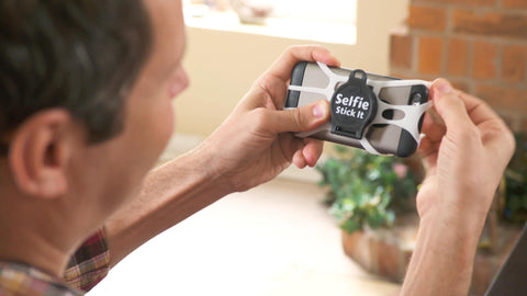 Selfie Stick-It® Convert any surface into an instant photo booth!