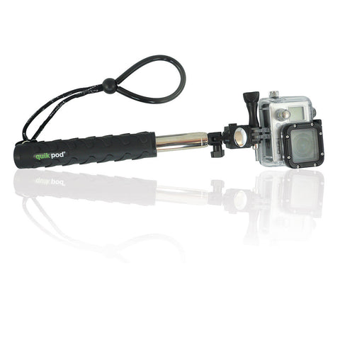 Quik Pod Explorer 3 (Most Compact for GoPro, Sea Life and Smartphones)