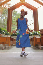 "Load image into Gallery viewer, ""DREAMLAND"" denim dress"