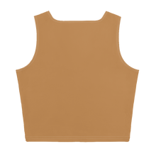 Load image into Gallery viewer, TAN STAR CROP TANK TOP