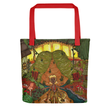 "Load image into Gallery viewer, ""adapting to my environment"" tote bag"