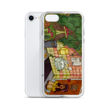 "Load image into Gallery viewer, ""anywhere can be a temporary escape"" iphone case"