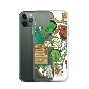 """CLUTTERED"" iphone case!"