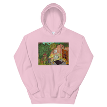 "Load image into Gallery viewer, ""anywhere can be a temporary escape"" hoodie"