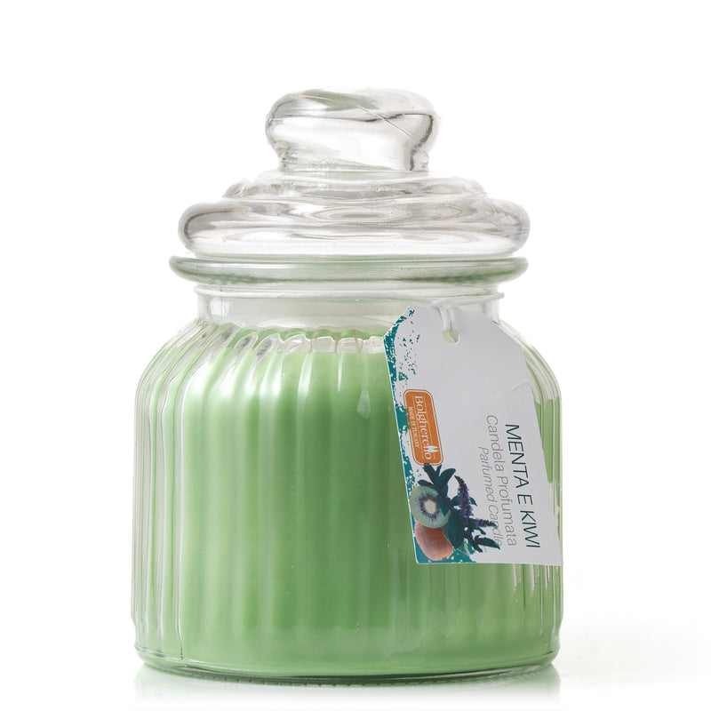 Mint and Kiwi Scented Candle