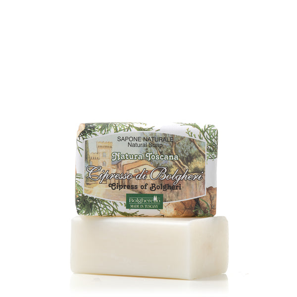 Bolgheri's cypress soap