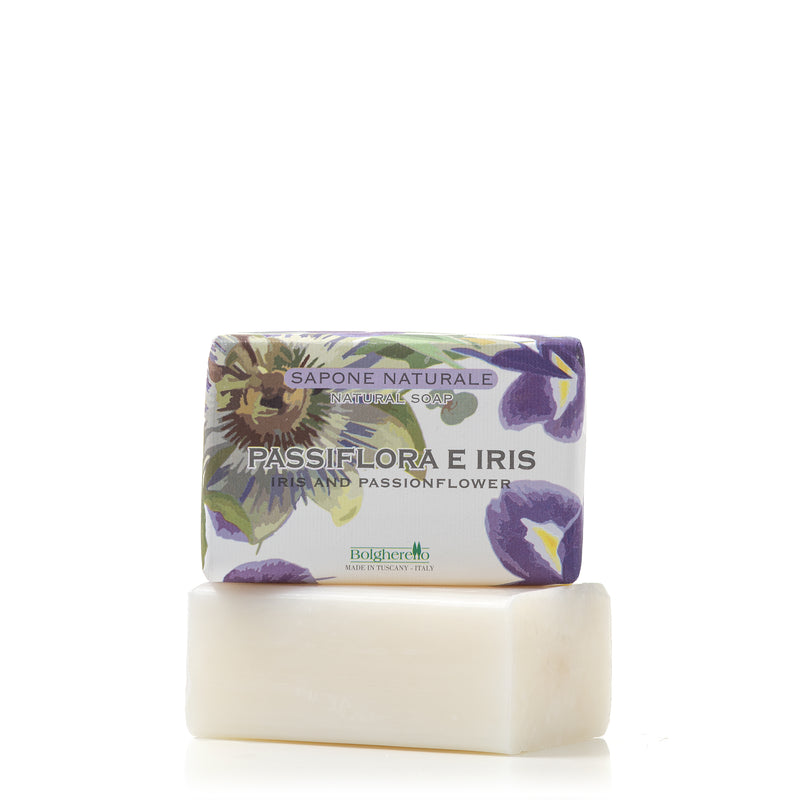 Passiflora and Iris soap