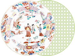TWO SIDED ROUND PLACEMAT MATT BESHEARS AND HSH