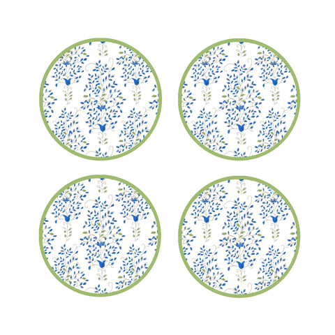 DANA GIBSON SET OF 4 STELLA COASTERS