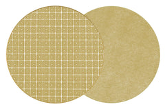 HOLLY'S KEY  Two Sided Reversible Hardboard Handcrafted Wipeable Placemat Shimmer (Gold)