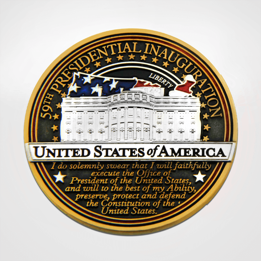 2021 Presidential Inauguration Coin White House