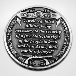Load image into Gallery viewer, 2nd Amendment Coin - Back Text