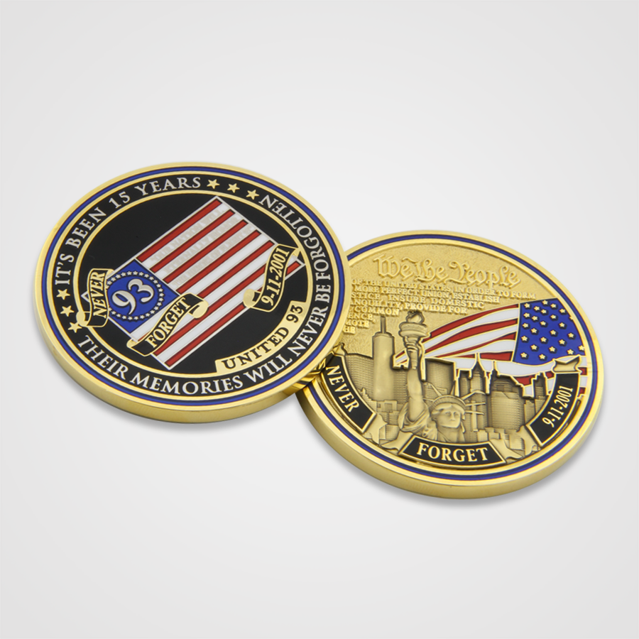 9/11 15 Year Anniversary Commemorative Coins