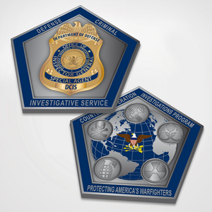 DCIS - CPI Program Challenge Coin