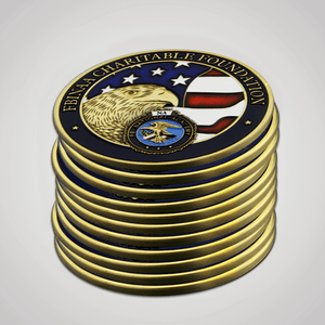 Load image into Gallery viewer, FBINAA 50k Challenge Coin-Front