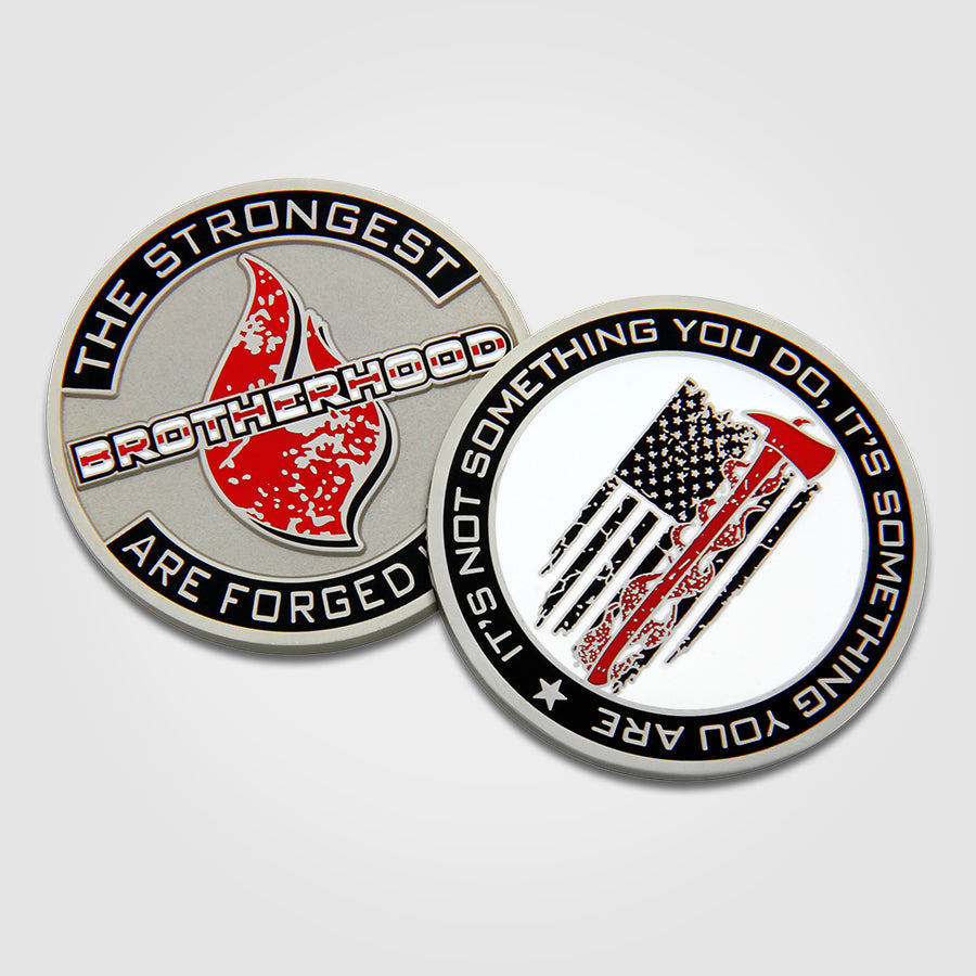 Brotherhood Fire Coins