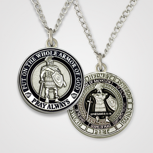 Armor of God Pendant Male-Black