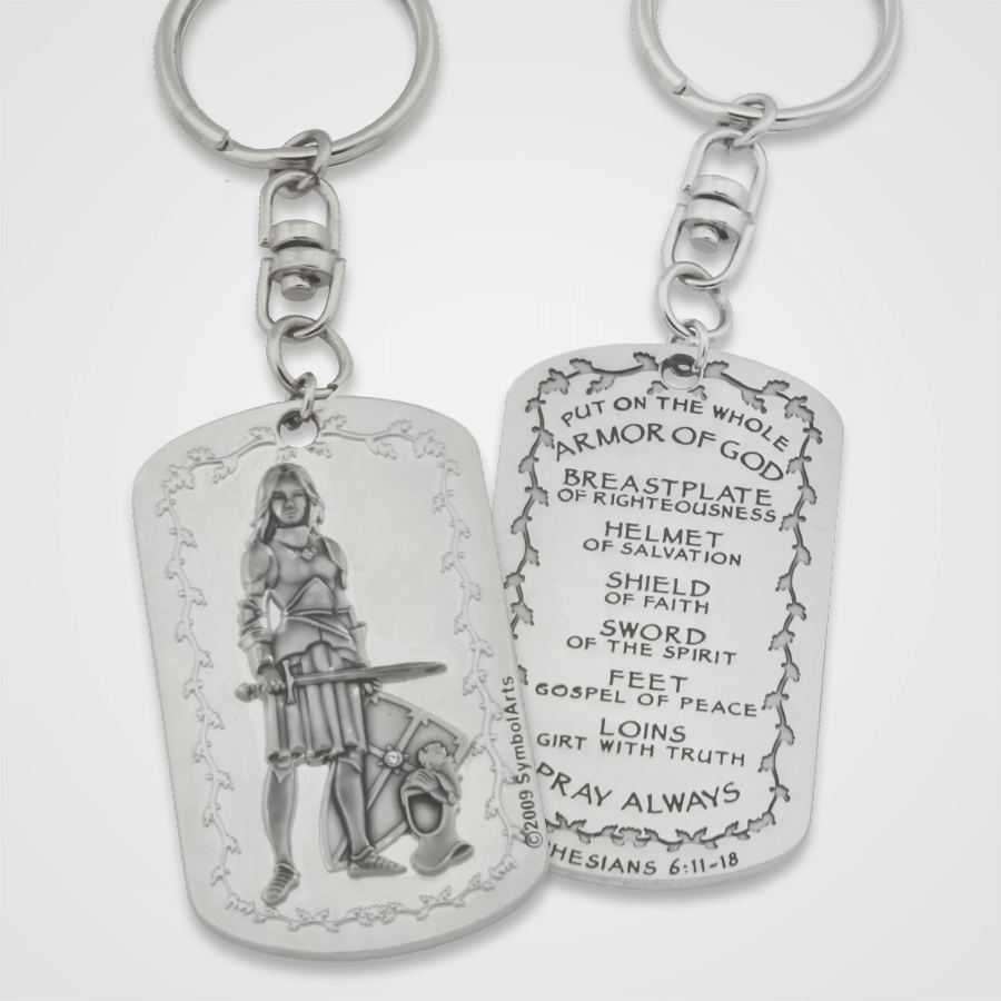 Armor of God Key Chain Female