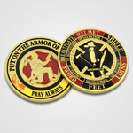 Armor of God Fire Coins