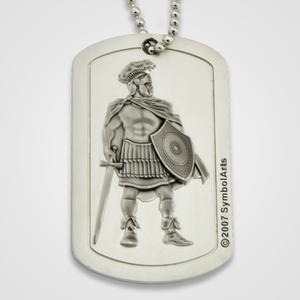 Armor of God Dog Tag Male-Front