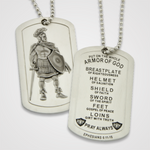 Armor of God Dog Tag Male