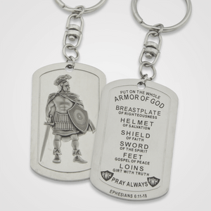 Armor of God Key Chain Male