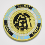 Armor of God Police Coin-Front