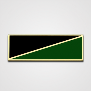 2-Stripe Black/Green Merit Pin-Bar